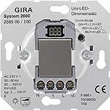 Gira Universal-LED-Dimmeinsatz Tastdimmer für LED-Lampen Typ 3-100 W, 238500