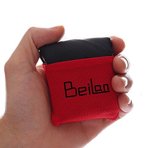 BeiLan Manta mini bolsillo de picnic artículo Ligero arena impermeable a prueba de Playa Colchoneta de viaje con bolsa de portátil para el aire libre Actividades 70*110cm