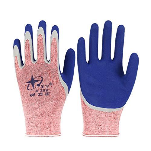 Hongyan Gloves Guantes Protectores Resistentes Desgaste