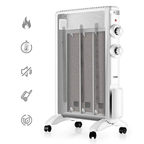 TURBRO Arcade HR1020 Wärmewelle Heizgerät | 2000 Watt | Räume bis 60 m3 | 220-240V | Schwarz