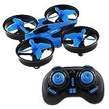 M SANMERSEN Mini Quadrocopter Drohne, JJRC H36 Mini Drohne Quadrokopter Mini Drone RC Quadcopter Spielzeug für Kinder über 14 Jahre, 2.4GHz 360°Drehen Fliegende Spielzeug mit Fernbedienung