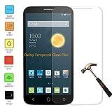 Owbb Protection écran en Verre Trempé pour Alcatel OneTouch PIXI 3(4.0pouce) Smartphone Films de protection Transparents Ultra Clear