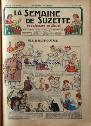 SEMAINE DE SUZETTE (LA) [No 14] du 05/03...