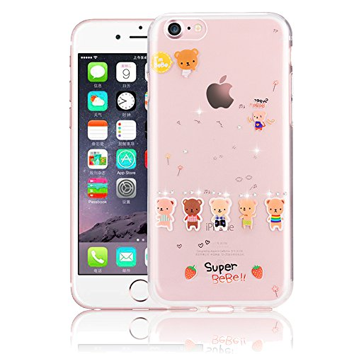 Custodia iPhone 7 TPU,Case Cover per iPhone 7 in TPU,Bonice iPhone 7 Marmo Case Cover iPhone 7 4.7 inch - pattern 14 Pattern 03