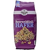 Bauckhof Hafermüsli Beeren glutenfrei, 4er Pack (4 x 425 g) - Bio