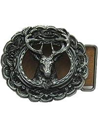 9c738d05addb Corrosionp Boucle de ceinture Style Western Boucle de ceinture pour Hommes  Femmes B