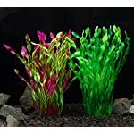 iNeith Fish Tank Plant Water Grass Aquarium Artificial Plastic Colorful Decor Ornament Decoration Submarine Pack of 5 14