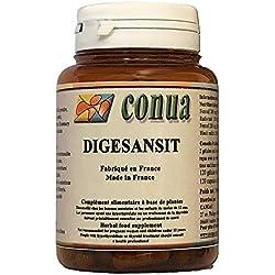 Digestion transit Complexe DIGESANSIT Detox foie et colon : Fenouil Romarin Artichaut Radis noir 120 gélules de 285 mg Fabriqué en France Conua depuis 2003