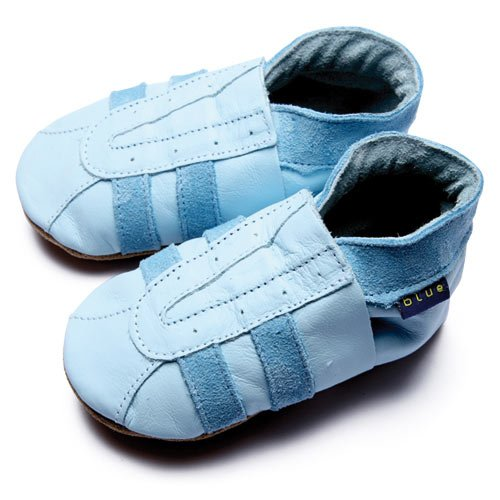 Inch Blue, Mädchen Babyschuhe - Krabbelschuhe & Puschen  Blau 22-23 cm