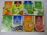 AL FAKHER Pack of 8 Flavor with AL Akbar Coconut Coal 30PCS