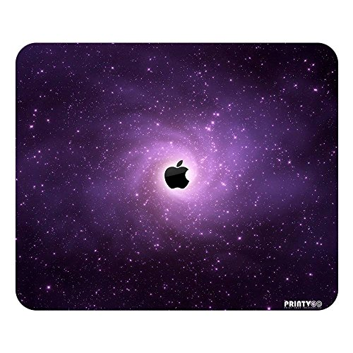 PrintVoo Galaxy Apple Abstract Design Mousepad