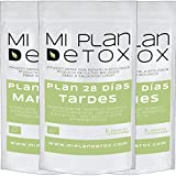 Plan Detox 28 días. Depura tu cuerpo. Té detox. Saciante, Desintoxicante, Elimina Toxinas, 100%...