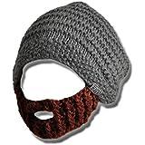 Beardo® Original Bartmütze (verschiedene Farbkombinationen) - mit abnehm- und verstellbarem Bart