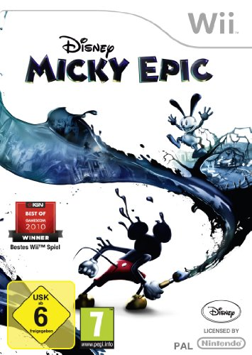 Wii Video-spiele (Disney Micky Epic)