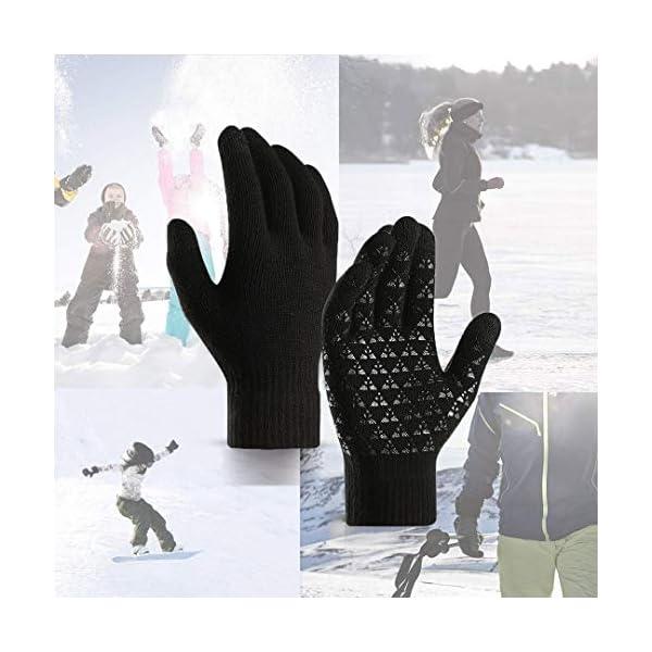 abbigliamento uomo guanti donna invernali touch screen caldi accessori uomo e donna supporto smartphone e tablet idee… 12 spesavip