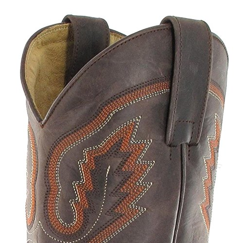 Sendra Boots  5357, Bottes et bottines cowboy mixte adulte Marron - Chocolate Seahorse