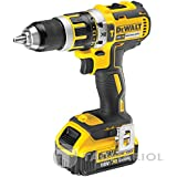 DeWalt DCD795M2 18V XR Brushless Compact Li-ion Combi Drill with 2 x 4Ah Batteries
