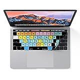 ABLETON LIVE Tastatur Schutzhülle für MacBook Pro mit Touch Bar–Anwendung Shortcuts
