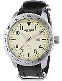 Mike Ellis New York Herren-Armbanduhr XL Analog Quarz 17986B