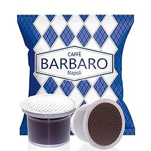 Compatibile Aroma Vero, Martello, Mitaca, Caffe Barbaro, Cremoso Napoli Miscela Blu - 100 Capsule