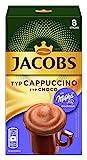 Jacobs Cappuccino Milka, 80 Kaffeesticks, 10er Pack, 10 x 8 Getränke