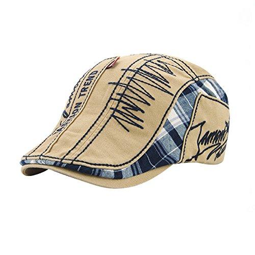 UNIQUEBELLA Unisex Mütze Stickerei Damen Herren Mütze Damenmütze Mütze Baske...