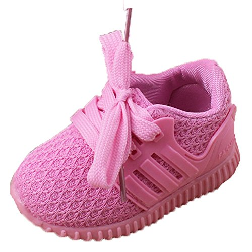 Ohmais Enfants Chaussure Bebe Garcon Fille Premier Pas Chaussure premier pas bébé Sandale pink