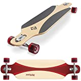 Streetsurfing Street Surfing Longboard Freeride 39, Design: Carve Red, 500229