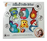 #10: Mimi Bells Multicolor Musical Toy RATTLE SET JHUNJHUNA and TEETHERS for Baby. Best Gift Set For Newborn
