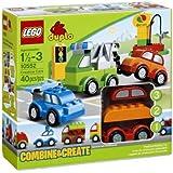 Lego Duplo Creative Cars 10552 W/ Building Inspiration Poster - Create The Coolest Vehicles Jouets, Jeux, Enfant, Peu, Nourrisson