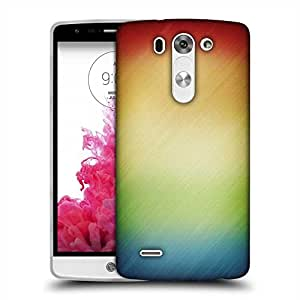 Snoogg Woollen Multicolor Design Designer Protective Phone Back Case Cover For LG G3 BEAT
