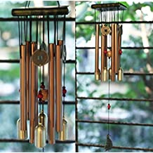 PARADIGM PICTURES Feng Shui Items for Home Decoration Wind Chimes for Home Positive Energy for Balcony Bedroom (8 Pipe 4 Bell)
