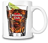 Havana Club Glass Of Rum Mug Cup
