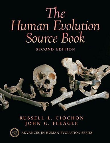 Human Evolution Source Book by Russell L. Ciochon (2003-12-31)