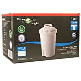 FilterLogic FL601T - 6er Pack Kartuschen für Tischwasserfilter - Alternative zu Brita Classic / BWT Anna / Kenwood Universal / Laica Multi-Flux Classic / Aquaphor B100-15 / Dafi Classic Wasserfilter