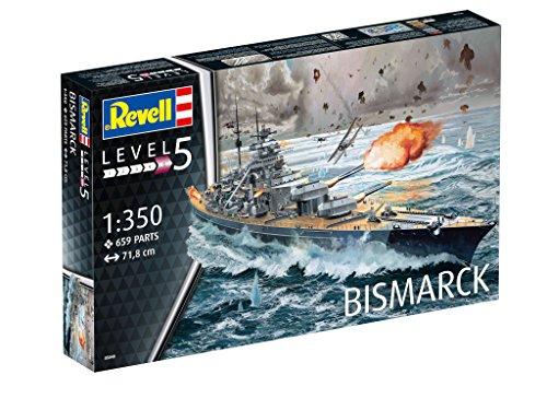 Revell 05040 – Battleship Bismarck - 3