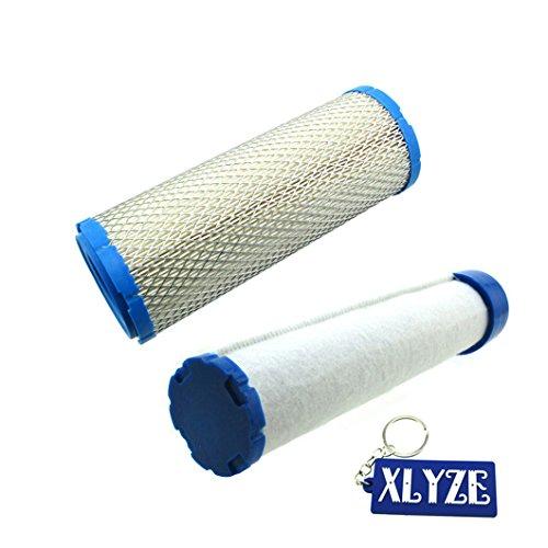 Xlyze filtre à air pour Briggs & Stratton 4235 841497 821136 253t 25 083 01-s 25 083 04-s M131802 Élément Miu12457 Kawasaki 11013–7020 11013–7044 11013–7019 11013–7045