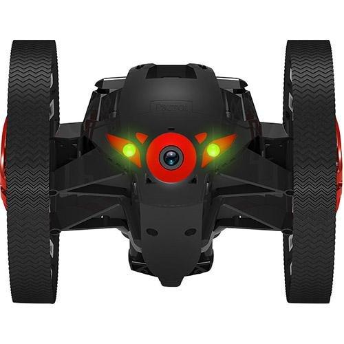 Parrot Minidrones Jumping Sumo Robot, Rosso/Nero