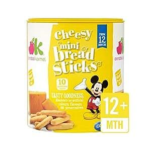 Annabel Karmel Cheesy Mini Breadsticks 12+ Months 50g - Pack of 6