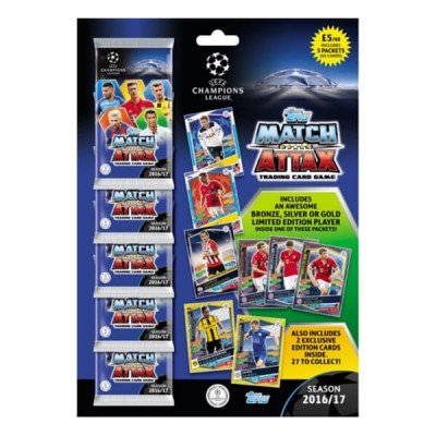 Topps Match Attax UCL 2016/2017 Champions League 16/17 Multipack Trading Cards