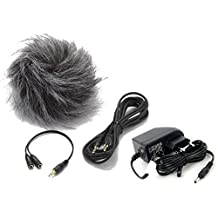 Zoom APH-4NSP - Micrófono externo para grabadora de voz Zoom H4NSP, negro