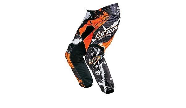 ONeal Element MX Hose Racewear Schwarz Orange Motocross Enduro Offroad Quad 0128-4