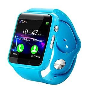 Hukz G10A Kid Smart Uhr GPS Tracker IP67 Wasserdichte Fitnessuhr,Intelligente Uhr für Kinder