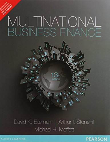 Multinational Business Finance, 13e