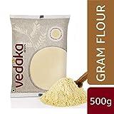 Amazon Brand - Vedaka Gram Flour (Besan), 500 g
