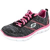 Skechers - Zapatillas para Mujer Black/Hot Pink