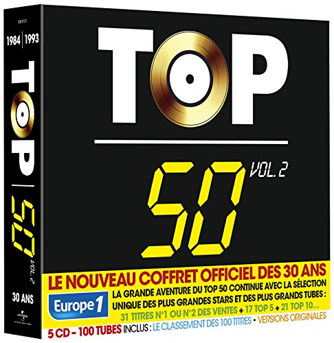 Top 50 - 30 Ans (100 Tubes) Vol.2