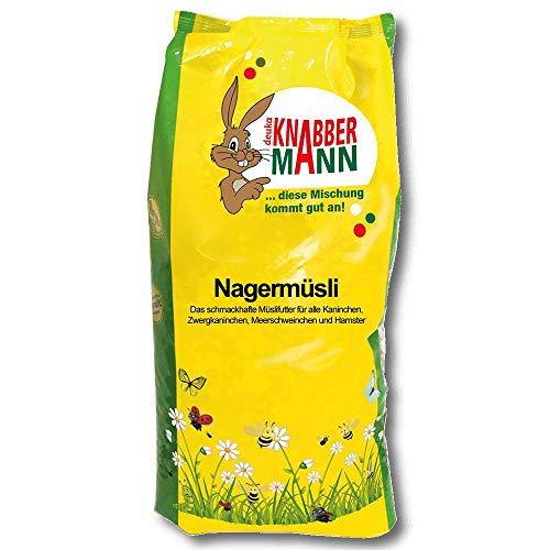 Deuka Knabbermann Nagermüsli 5 kg Nagerfutter Kaninchenfutter Meerschweinschen