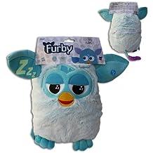 Peluche Guarda Pijama Furby Azul Sonido y Brilla en la oscuridad 30cm Original Hasbro