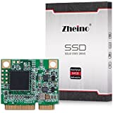 Zheino Half Size mSATA 64gb SSD Tamaño medio mSATA SSD Half Msata Disco Duro Mini mSATA 3 SSD Unidad de Estado Sólido Para el Ordenador Portátil Mini PC Mini Laptop 26.8mm (L) * 30.1mm (W) * 3,5 mm (H)
